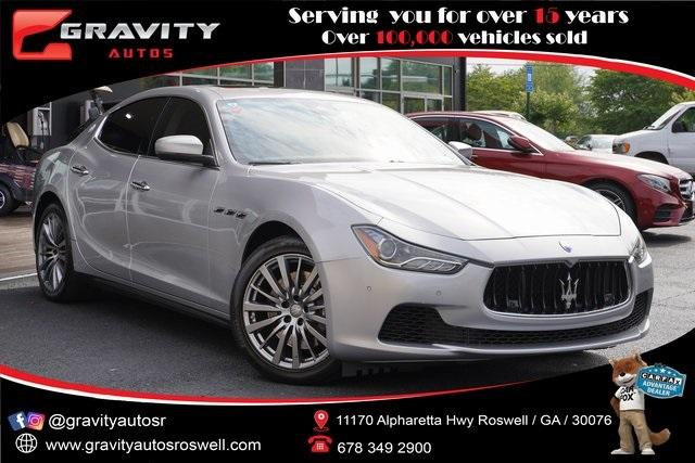 Used 2017 Maserati Ghibli S for sale $39,991 at Gravity Autos Roswell in Roswell GA 30076 1