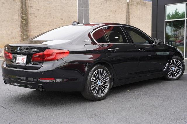 Used 2018 BMW 5 Series 530e iPerformance for sale $32,991 at Gravity Autos Roswell in Roswell GA 30076 11