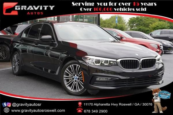 Used 2018 BMW 5 Series 530e iPerformance for sale $32,991 at Gravity Autos Roswell in Roswell GA