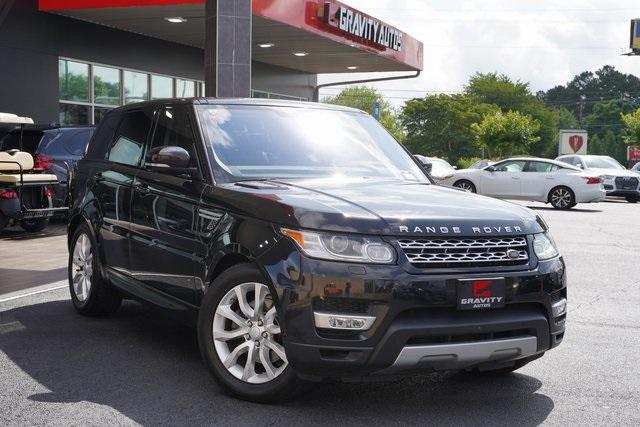 Used 2016 Land Rover Range Rover Sport 3.0L V6 Supercharged HSE for sale $45,996 at Gravity Autos Roswell in Roswell GA 30076 2
