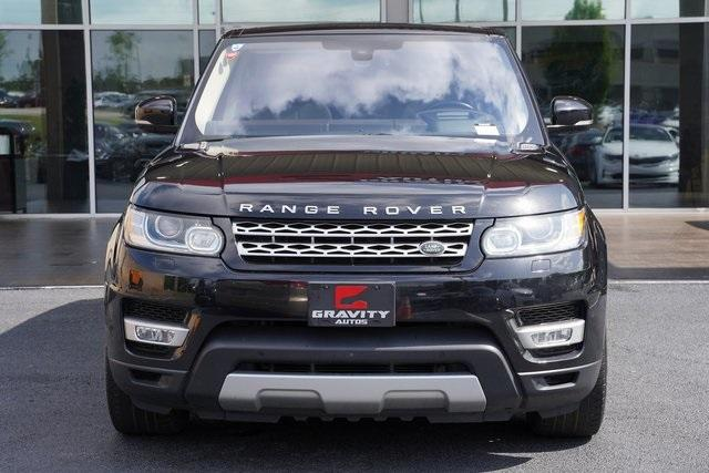 Used 2016 Land Rover Range Rover Sport 3.0L V6 Supercharged HSE for sale $45,996 at Gravity Autos Roswell in Roswell GA 30076 6