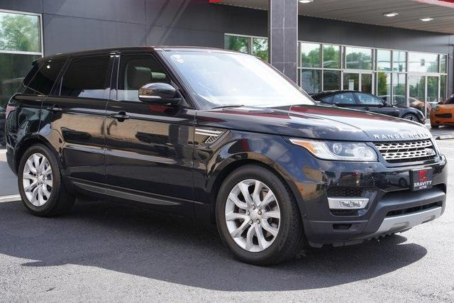 Used 2016 Land Rover Range Rover Sport 3.0L V6 Supercharged HSE for sale $45,996 at Gravity Autos Roswell in Roswell GA 30076 7