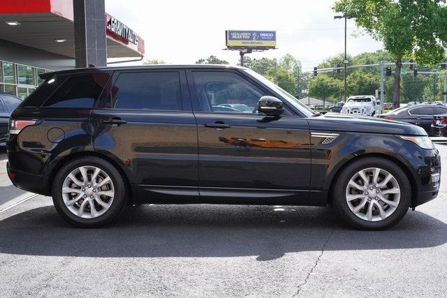 Used 2016 Land Rover Range Rover Sport 3.0L V6 Supercharged HSE for sale $45,996 at Gravity Autos Roswell in Roswell GA 30076 8