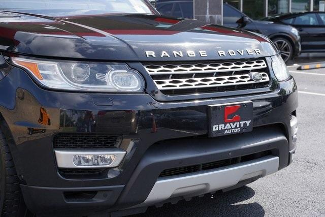 Used 2016 Land Rover Range Rover Sport 3.0L V6 Supercharged HSE for sale $45,996 at Gravity Autos Roswell in Roswell GA 30076 9