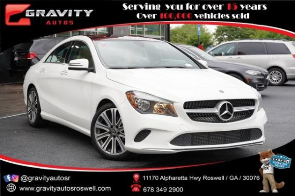 Used 2019 Mercedes-Benz CLA CLA 250 for sale $31,996 at Gravity Autos Roswell in Roswell GA
