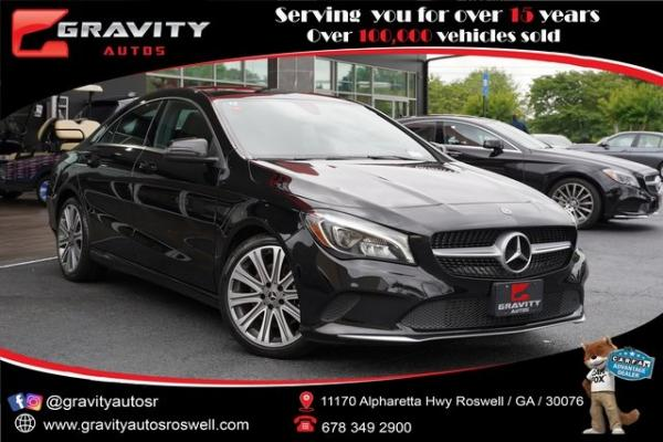 Used 2018 Mercedes-Benz CLA CLA 250 for sale $30,996 at Gravity Autos Roswell in Roswell GA