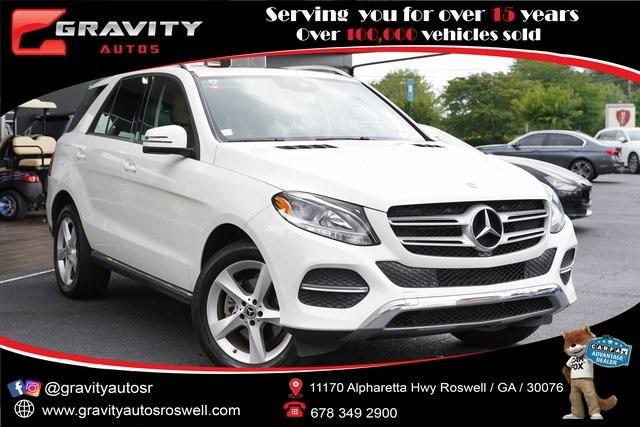 Used 2018 Mercedes-Benz GLE GLE 350 for sale $38,996 at Gravity Autos Roswell in Roswell GA 30076 1