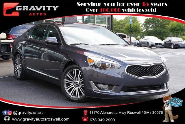 Used 2014 Kia Cadenza Premium for sale $20,996 at Gravity Autos Roswell in Roswell GA 30076 1