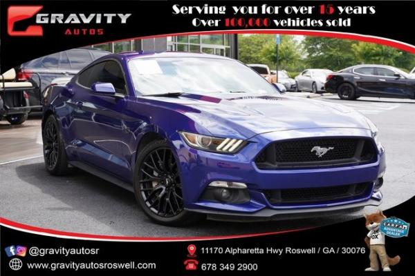 Used 2016 Ford Mustang GT for sale $36,992 at Gravity Autos Roswell in Roswell GA