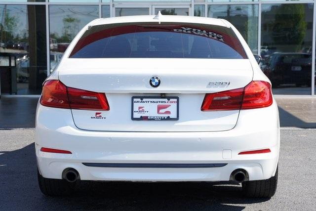 Used 2019 BMW 5 Series 530i for sale $38,992 at Gravity Autos Roswell in Roswell GA 30076 12