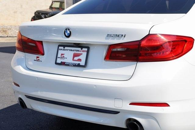 Used 2019 BMW 5 Series 530i for sale $38,992 at Gravity Autos Roswell in Roswell GA 30076 14