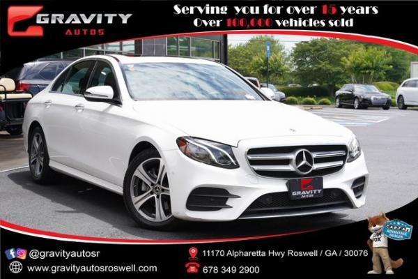 Used 2018 Mercedes-Benz E-Class E 300 for sale $40,992 at Gravity Autos Roswell in Roswell GA