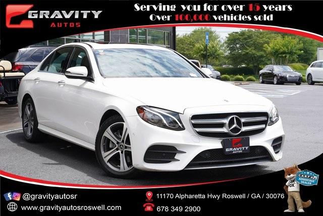 Used 2018 Mercedes-Benz E-Class E 300 for sale Sold at Gravity Autos Roswell in Roswell GA 30076 1