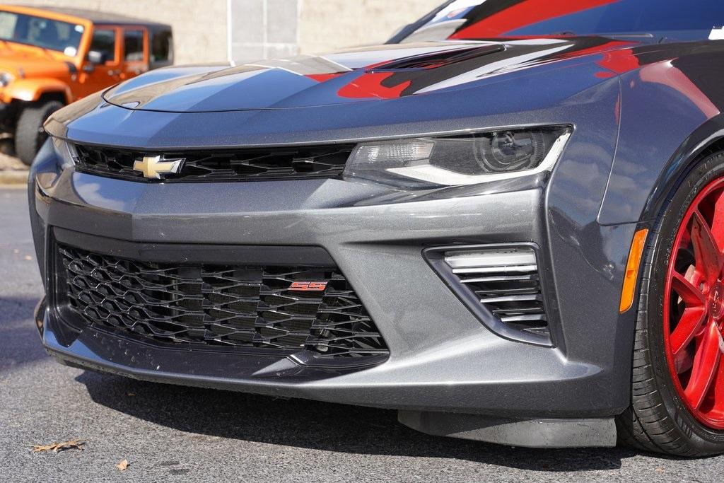 Used 2017 Chevrolet Camaro SS for sale $42,992 at Gravity Autos Roswell in Roswell GA 30076 8