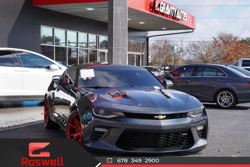 Used 2017 Chevrolet Camaro SS for sale $42,992 at Gravity Autos Roswell in Roswell GA 30076 1