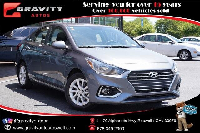 Used 2019 Hyundai Accent SEL for sale Sold at Gravity Autos Roswell in Roswell GA 30076 1