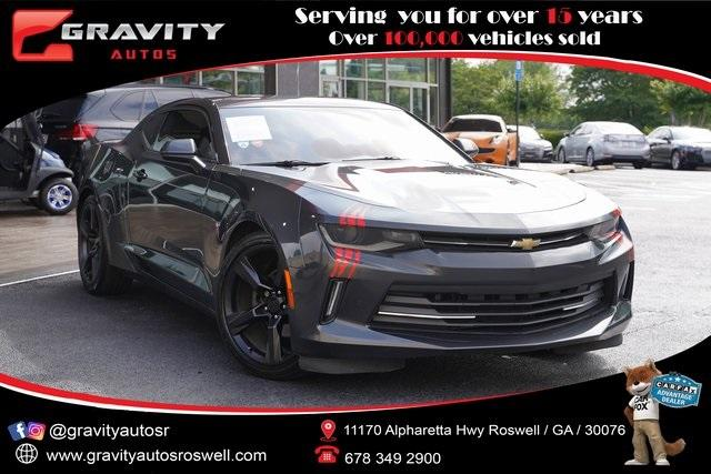 Used 2016 Chevrolet Camaro 2LT for sale $27,996 at Gravity Autos Roswell in Roswell GA 30076 1