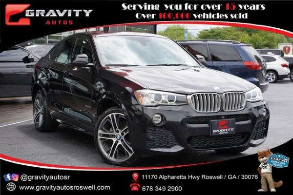 Used 2016 BMW X4 xDrive28i for sale $30,996 at Gravity Autos Roswell in Roswell GA