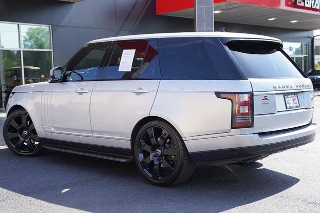 Used 2015 Land Rover Range Rover 3.0L V6 Supercharged HSE for sale $47,996 at Gravity Autos Roswell in Roswell GA 30076 11