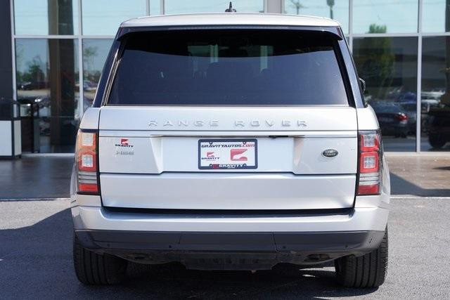 Used 2015 Land Rover Range Rover 3.0L V6 Supercharged HSE for sale $47,996 at Gravity Autos Roswell in Roswell GA 30076 12