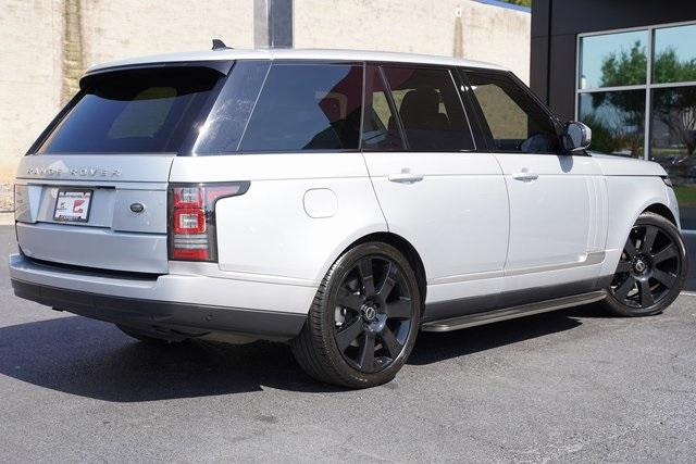 Used 2015 Land Rover Range Rover 3.0L V6 Supercharged HSE for sale $47,996 at Gravity Autos Roswell in Roswell GA 30076 13