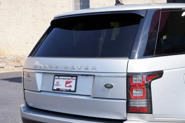 Used 2015 Land Rover Range Rover 3.0L V6 Supercharged HSE for sale $47,996 at Gravity Autos Roswell in Roswell GA 30076 14