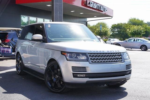 Used 2015 Land Rover Range Rover 3.0L V6 Supercharged HSE for sale $47,996 at Gravity Autos Roswell in Roswell GA 30076 2