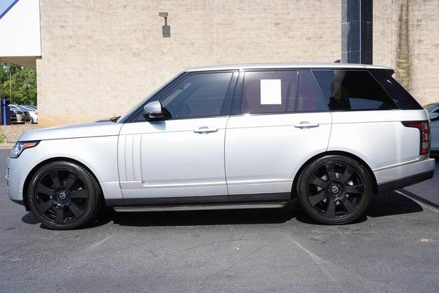 Used 2015 Land Rover Range Rover 3.0L V6 Supercharged HSE for sale $47,996 at Gravity Autos Roswell in Roswell GA 30076 4
