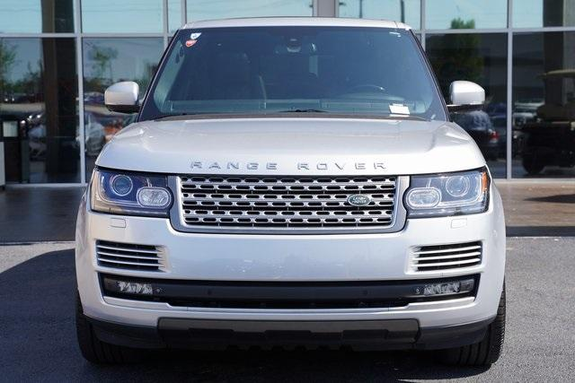 Used 2015 Land Rover Range Rover 3.0L V6 Supercharged HSE for sale $47,996 at Gravity Autos Roswell in Roswell GA 30076 6