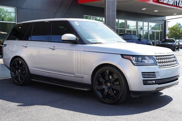 Used 2015 Land Rover Range Rover 3.0L V6 Supercharged HSE for sale $47,996 at Gravity Autos Roswell in Roswell GA 30076 7