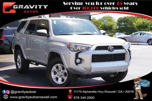 Used 2019 Toyota 4Runner SR5 Premium for sale $38,993 at Gravity Autos Roswell in Roswell GA