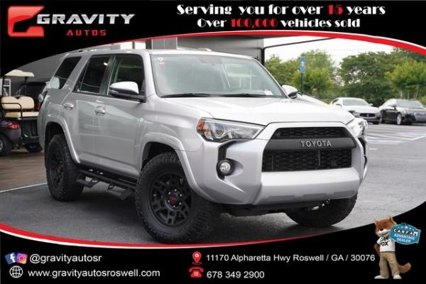 Used 2018 Toyota 4Runner SR5 Premium for sale $39,996 at Gravity Autos Roswell in Roswell GA