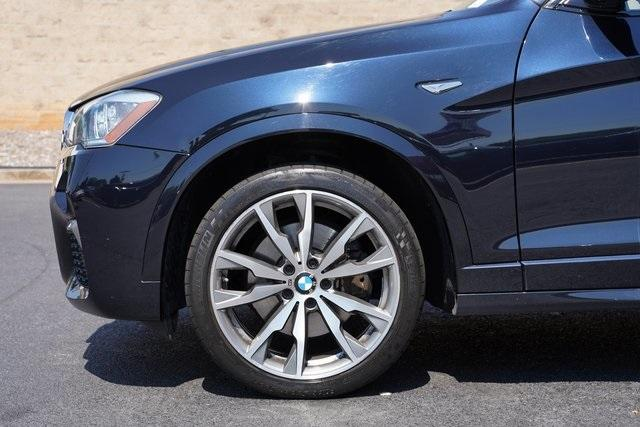 Used 2017 BMW X4 M40i for sale $38,996 at Gravity Autos Roswell in Roswell GA 30076 10