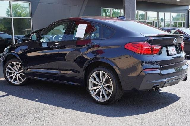Used 2017 BMW X4 M40i for sale $38,996 at Gravity Autos Roswell in Roswell GA 30076 11