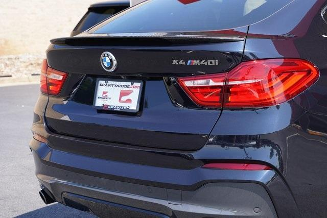 Used 2017 BMW X4 M40i for sale $38,996 at Gravity Autos Roswell in Roswell GA 30076 14
