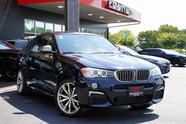 Used 2017 BMW X4 M40i for sale $38,996 at Gravity Autos Roswell in Roswell GA 30076 2