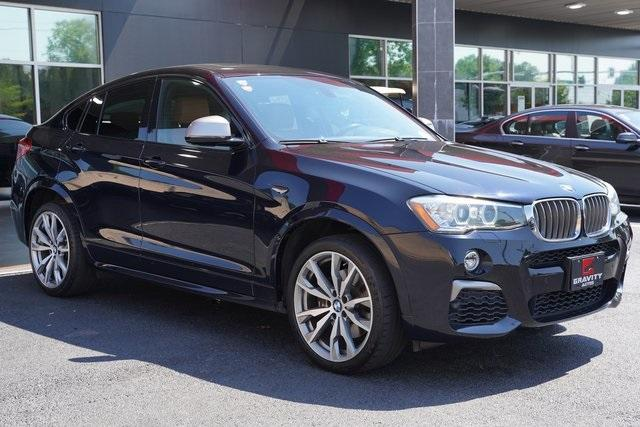 Used 2017 BMW X4 M40i for sale $38,996 at Gravity Autos Roswell in Roswell GA 30076 7