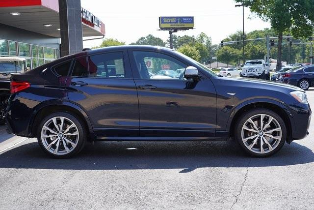 Used 2017 BMW X4 M40i for sale $38,996 at Gravity Autos Roswell in Roswell GA 30076 8