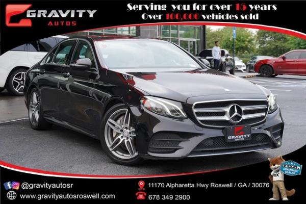 Used 2017 Mercedes-Benz E-Class E 300 for sale $33,996 at Gravity Autos Roswell in Roswell GA