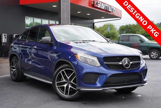 Used 2017 Mercedes-Benz GLE GLE 43 AMG Coupe for sale $61,996 at Gravity Autos Roswell in Roswell GA 30076 2