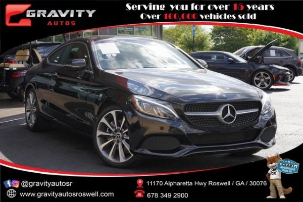 Used 2018 Mercedes-Benz C-Class C 300 for sale $35,996 at Gravity Autos Roswell in Roswell GA