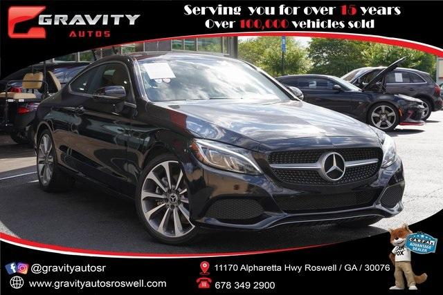 Used 2018 Mercedes-Benz C-Class C 300 for sale $35,996 at Gravity Autos Roswell in Roswell GA 30076 1
