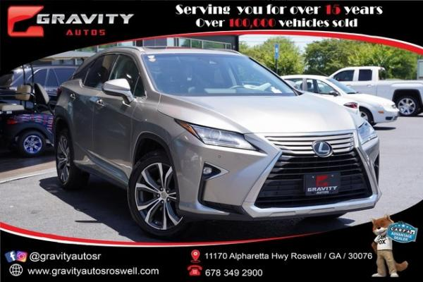 Used 2017 Lexus RX 350 for sale $38,996 at Gravity Autos Roswell in Roswell GA