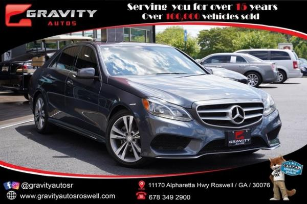 Used 2016 Mercedes-Benz E-Class E 350 for sale $27,992 at Gravity Autos Roswell in Roswell GA