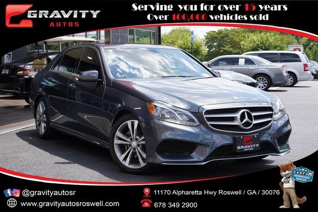 Used 2016 Mercedes-Benz E-Class E 350 for sale Sold at Gravity Autos Roswell in Roswell GA 30076 1