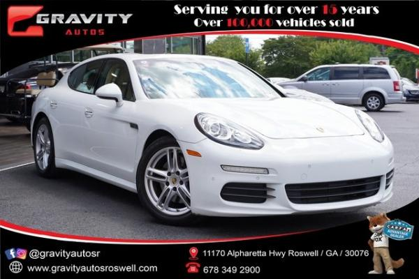 Used 2015 Porsche Panamera 4 for sale $49,996 at Gravity Autos Roswell in Roswell GA