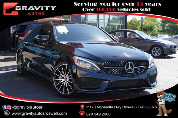 Used 2018 Mercedes-Benz C-Class C 300 for sale $38,992 at Gravity Autos Roswell in Roswell GA