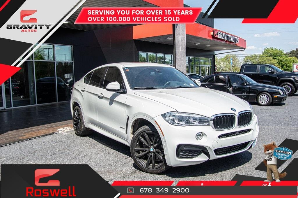Used 2018 BMW X6 xDrive35i for sale $51,996 at Gravity Autos Roswell in Roswell GA 30076 1
