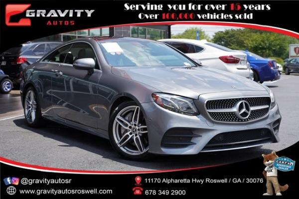 Used 2018 Mercedes-Benz E-Class E 400 for sale $45,996 at Gravity Autos Roswell in Roswell GA