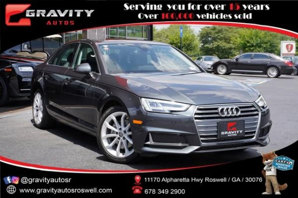Used 2019 Audi A4 2.0T Premium Plus for sale $31,991 at Gravity Autos Roswell in Roswell GA